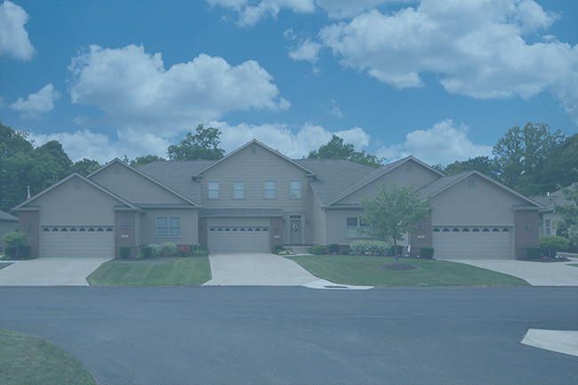 Stonebrook-Whispering-Woods-Erie-PA-Renaud-Peck-Triplex-2-Front-New-Home-Build-blue